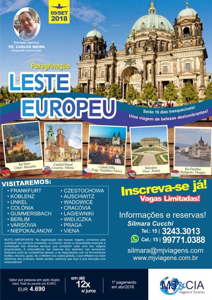 Viagem leste Europeu